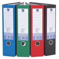 Banner Lever Arch File A4 70mm Capacity Cloud With Blue Spine Ref 1230485 Each