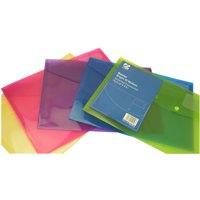 Banner Bright Translucent Wallets A4+ Assorted Colours Ref 1230522
