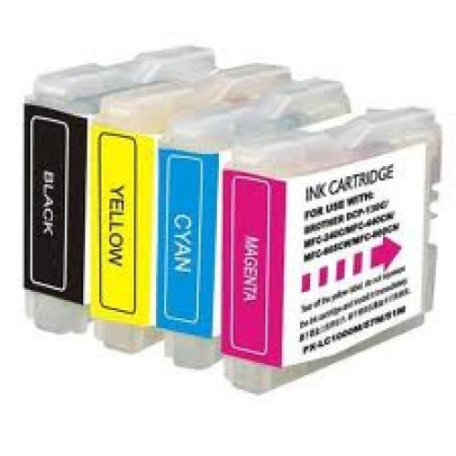 Brother LC121 C/M/Y/B Ink Value Pack