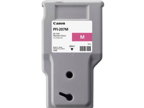 Canon PFI-207M (300ml) Ink Tank (Magenta)
