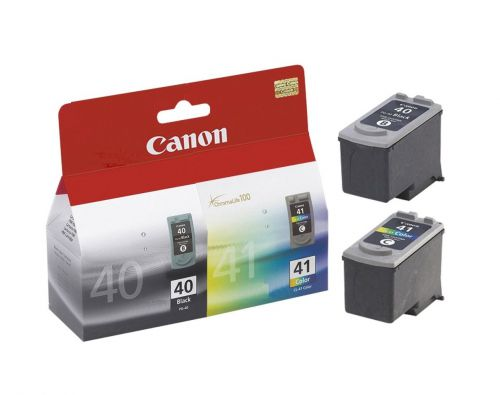 Canon PG-40 (Black) - (Yield 329 Pages) + Canon CL-41 (Colour) - (Yield 312 Pages) Ink Cartridge (Multi-Pack)