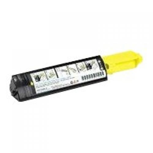Dell P6731 Standard Capacity (Yield 2,000 Pages) Yellow Toner for Dell 3000cn/3100cn Laser Printers