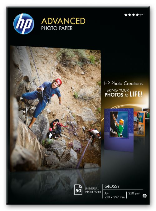 HP Advanced Glossy A4 Photo Paper Q8698A