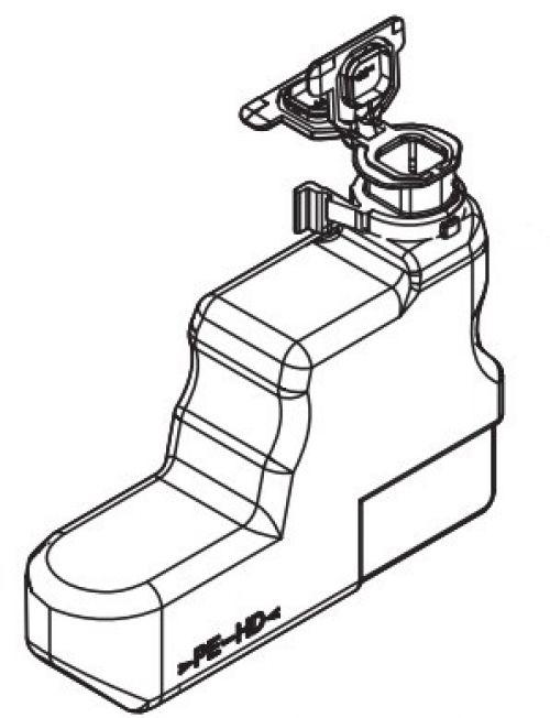 KYO WT-3100 WASTE TONER BOTTLE