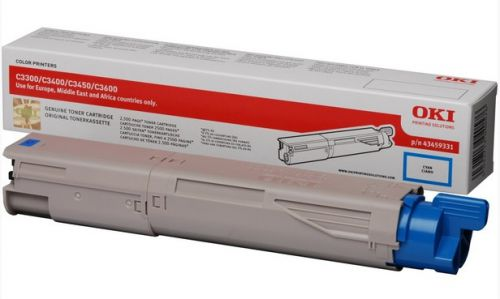 Oki C3450/3000/3400 Cyan Toner Cartridge