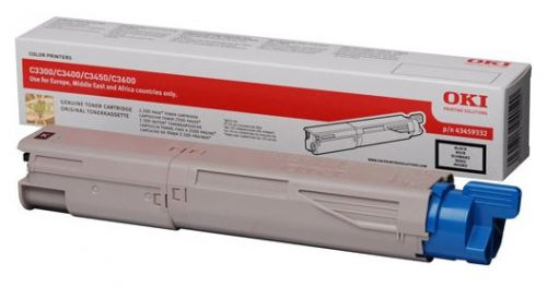 Oki Black C3450/C3000 Toner HY Cartridge