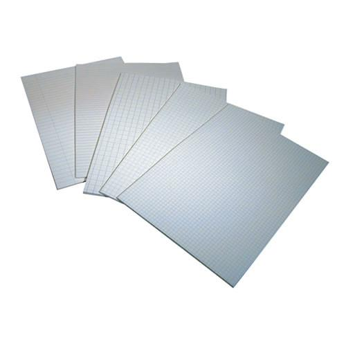 Rhino Exercise Paper Unpunched 10mm Square A4 90Gm 2 Pack of 500 DS08027 3P