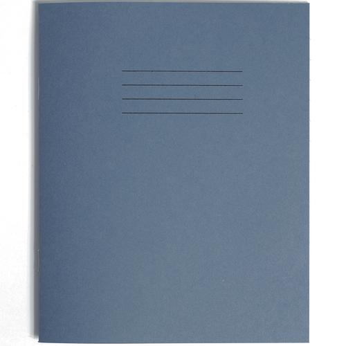 Rhino Exercise Book 12mm Ruled 205x165mm Dark Blue  48 Page Pack of 100 Ex34270 3P