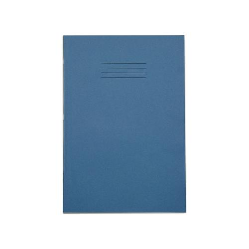 Rhino Exercise Book Plain 5mm Square Alternate A4 Red 64 Page Pack of 100 Ex67790-5 3P