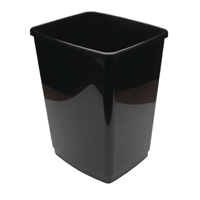 2Work 50L Swing Bin Base Only Black 50Lbase