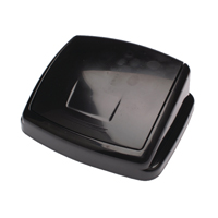 2Work 30L Swing Bin Top Only Black 30llid