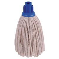 Image for 2Work 12oz PY Smooth Socket Mop Blue (Pack of 10) PJYB1210I