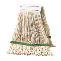 2Work 340g Multi Kentucky Mop Green PK5