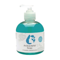 2Work Antibacterial Pump Soap 300ml Pack of 6 2W30037