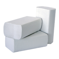 2Work White 1-Ply Multi-Fold Hand Towel (Pack of 3000) 2W70583