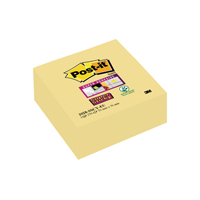 Post-it Yellow 76mm S/Sticky Note Cube