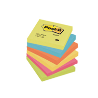 Post-it Notes 76 x 76mm Energy Colours 654TF Pack of 6