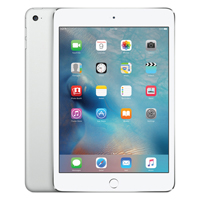 Apple iPad mini 4 Wi-Fi 16GB Silver (Pack of 1) MK6K2B/A