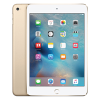 Apple iPad mini 4 Wi-Fi 16GB Gold (Pack of 1) MK6L2B/A