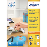Avery AfterBurner CD/DVD System AB1800