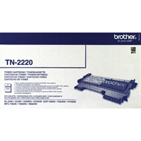 Brother High Yield Black Toner Cartridge 2.6K TN2220