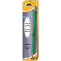 Bic Criterium Graphite HB Pencil Eraser Tip (2 Packs of 12) 857603