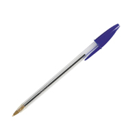 Bic Cristal Blue Med Ballpoint Pen Pk100