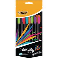 Bic Intensity Fineliner Pens Assorted 942097