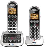 BT BT4000 Twin Big Bttn DECT C/lss Phone