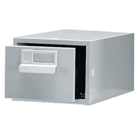 Bisley Grey Card Index Cabinet 6x4in SGL