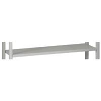 Bisley W1000xD300mm Grey Shelving Shelf