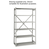 Bisley Shelving Bracing Kit W1000mm Grey