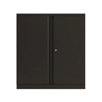 Bisley Black 2 Door 1016mm Cupboard