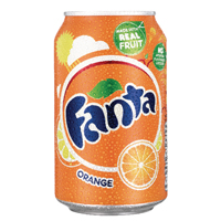 Fanta Orange Soft Drink 330ml Can 402006 (Pack of 24)