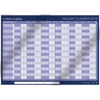 Collins Colplan Holiday Planner 2018 CWC10