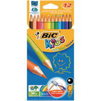 Bic Kids Colouring Pencil (Pack of 12) 829029
