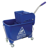 Blue Mobile Mop Bucket Wringer 20Ltr