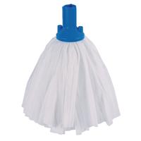 Big White Exel Mop Blue Pk10