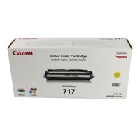 Canon 717Y Yellow Toner Cartridge