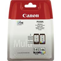 Canon PG-545XL/CL-546XL Twin Cartridges