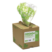 Green Sack Clr Refuse Bag Dispenser Pk75