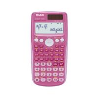 Casio FX85GTPLUS Twin-Power Scientific Calculator Pink