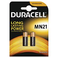 Duracell 12V Car Alarm Battery MN21 (Pack of 2) 75072670