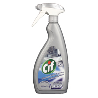 Cif Prof Stainless / Glass Cleaner 750ml