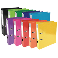 Iderama Lever Arch File 70mm Assorted 53629E