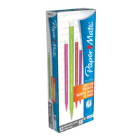 PaperMate Non-Stop Automatic Pencil 0.7mm HB Assorted Neon Barrels S0187204