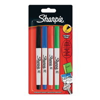 Sharpie Ultra Fine Assorted Marker S0835360