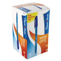 Papermate Blue InkJoy 100 Ballpoint Pen (Pack of 50) S0957130