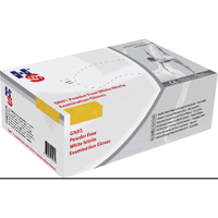 HPC Healthline Wht Nitrile Exam Md Glove