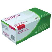Shield P/Free Xsmall Latex Gloves Pk1000